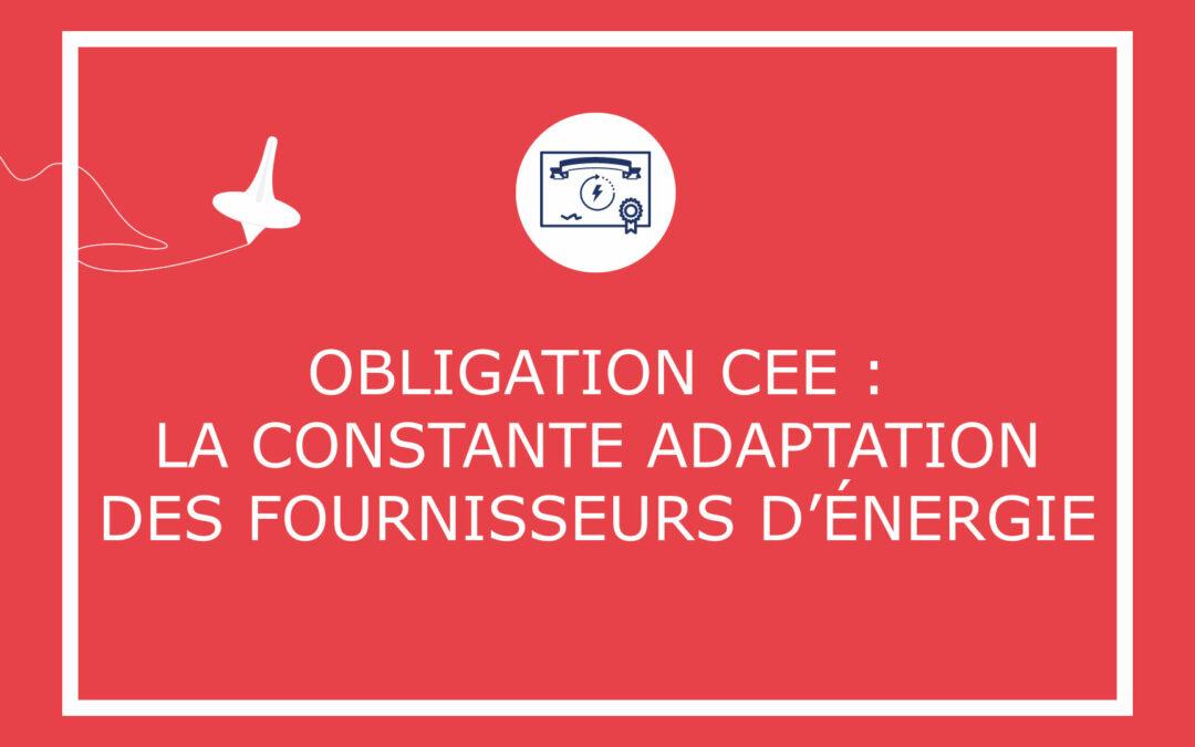 Obligation CEE: la constante adaptation des fournisseurs d'énergie