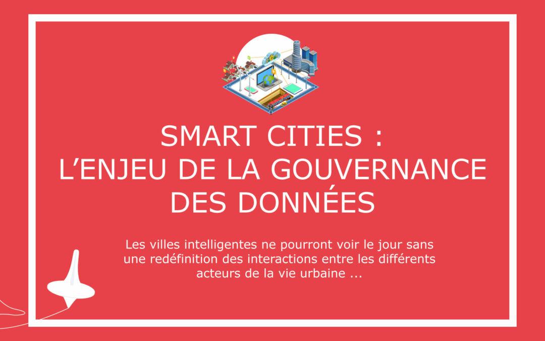 Smart Cities : l'enjeu de la gouvernance des données