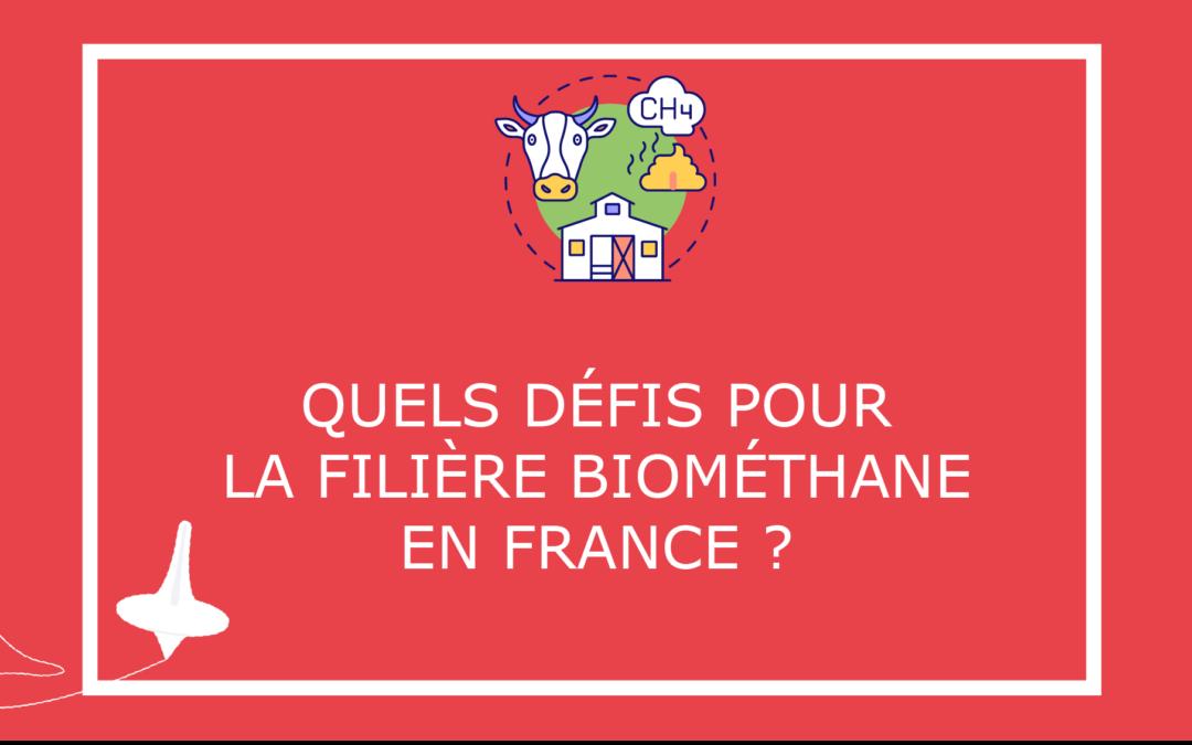 Quelsdéfispourla filière biométhane en France?