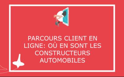Parcours client en ligne: où en sont les constructeurs automobiles